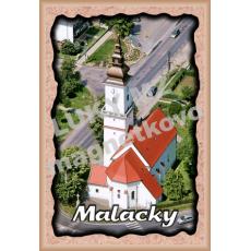 Magnetka rámik Malacky 1
