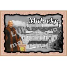 Magnetka rámik Malacky 3a