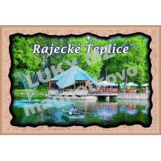 Magnetka rámik Rajecké Teplice 1