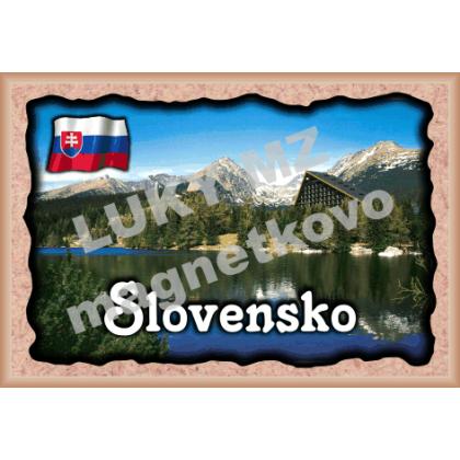 Magnetka rámik Slovensko 1