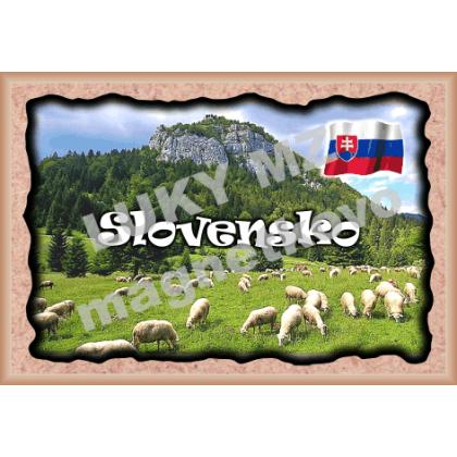 Magnetka rámik Slovensko 2