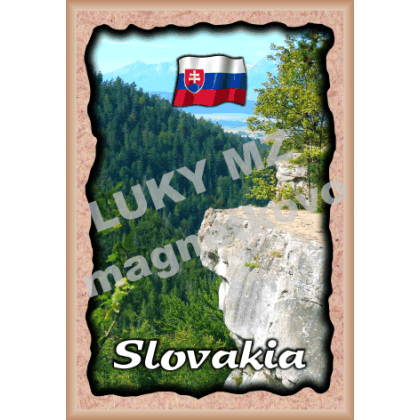 Magnetka rámik Slovensko 6