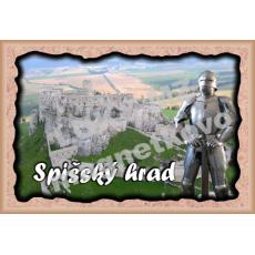Magnetka rámik Spišský hrad 4