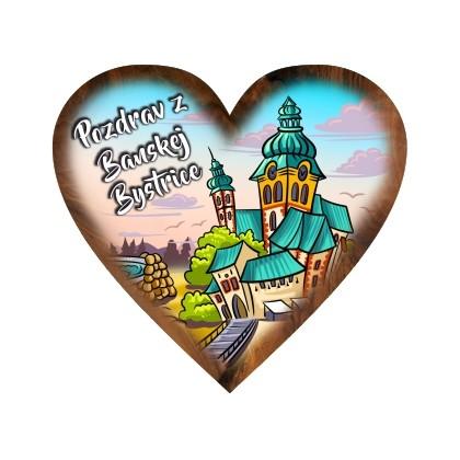 Magnetka srdiečko Banská Bystrica 03