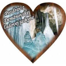 Magnetka srdiečko Demänovská Ľadová Jaskyňa 01