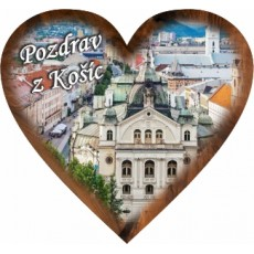 Magnetka srdiečko Košice 02