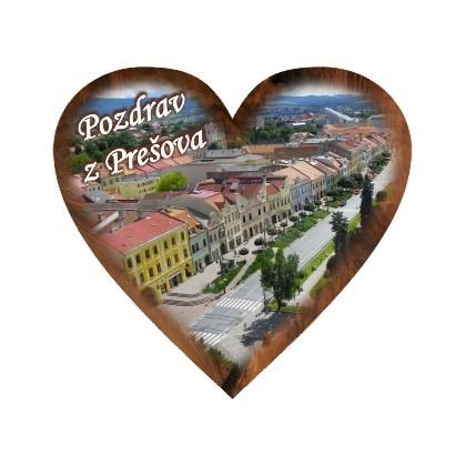 Magnetka srdiečko Prešov 02