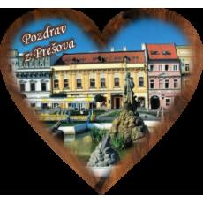 Magnetka srdiečko Prešov 01