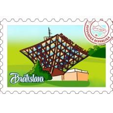 Magnetka známka Bratislava 13