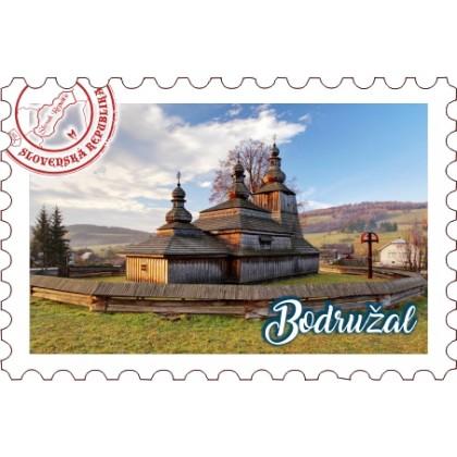 Magnetka známka Bodružal 01