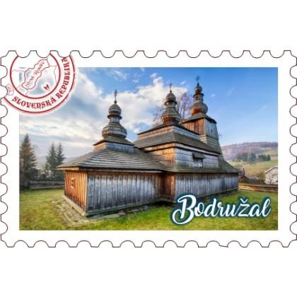 Magnetka známka Bodružal 02