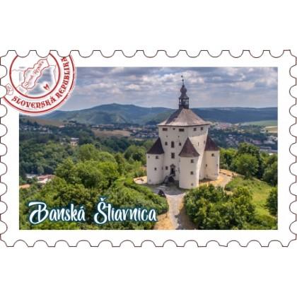 Magnetka známka Banská Štiavnica 01