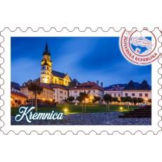 Magnetka známka Kremnica 01