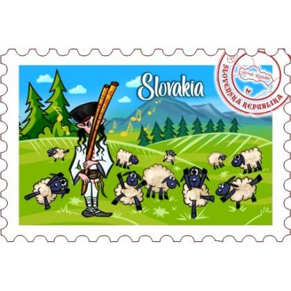 Magnetka známka Slovakia 02