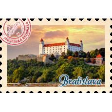 Magnetka známka Bratislava 01