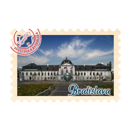 Magnetka známka Bratislava 03