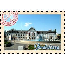 Magnetka známka Bratislava 04
