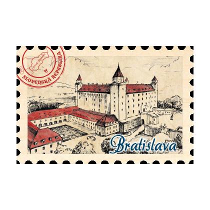 Magnetka známka Bratislava 05