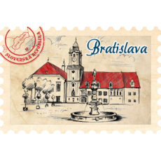 Magnetka známka Bratislava 06