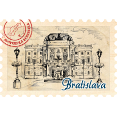 Magnetka známka Bratislava 07