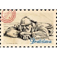 Magnetka známka Bratislava 09