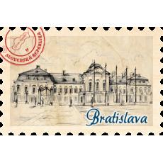 Magnetka známka Bratislava 11
