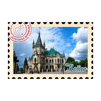 Magnetka známka Košice 03