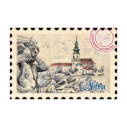 Magnetka známka Nitra 03
