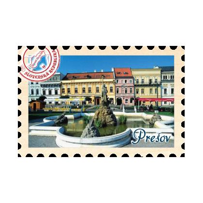 Magnetka známka Prešov 01