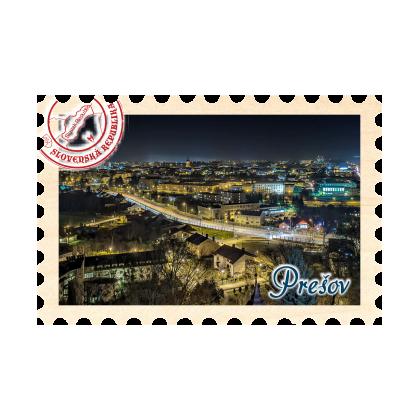 Magnetka známka Prešov 04