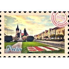 Magnetka známka Prešov 05