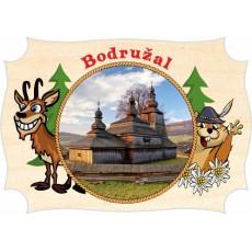 Magnetka drevená Bodružal 01