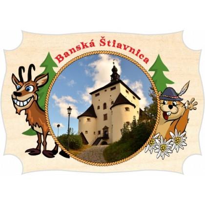 Magnetka drevená Banská Štiavnica 01