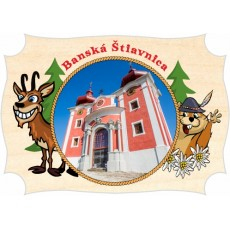 Magnetka drevená Banská Štiavnica 03