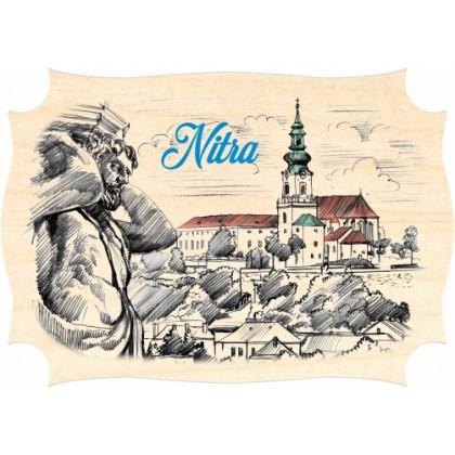 Magnetka drevená Nitra