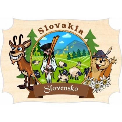 Magnetka drevená Slovensko 01