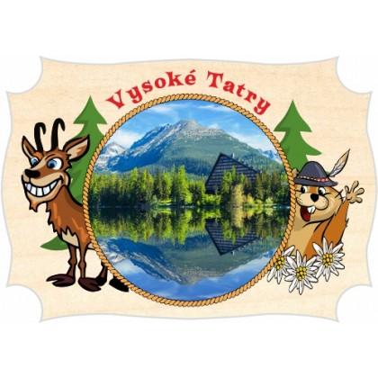 Magnetka drevená Vysoké Tatry 03