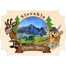 Magnetka drevená Vysoké Tatry 05a