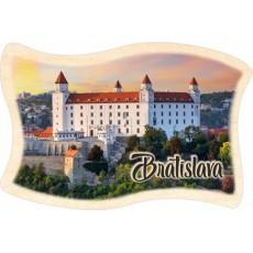 Magnetka drevená Bratislava 02 vlajka