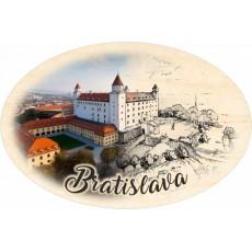 Magnetka ovál Bratislava 01