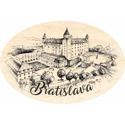 Magnetka ovál Bratislava 05