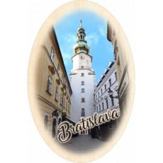Magnetka ovál Bratislava 08