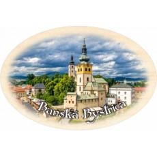 Magnetka ovál Banská Bystrica 01