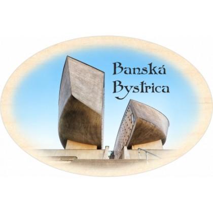 Magnetka ovál Banská Bystrica 02