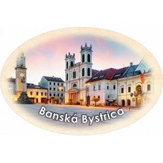 Magnetka ovál Banská Bystrica 03