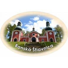Magnetka ovál Banská Štiavnica 01