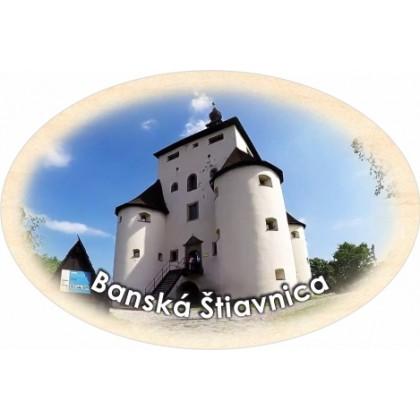 Magnetka ovál Banská Štiavnica 02