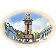 Magnetka ovál Banská Štiavnica 03
