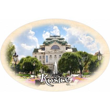 Magnetka ovál Košice 01