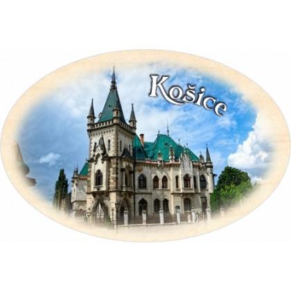 Magnetka ovál Košice 03